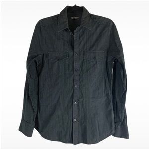 Men's Express Slim Fit Button Down Shirt
